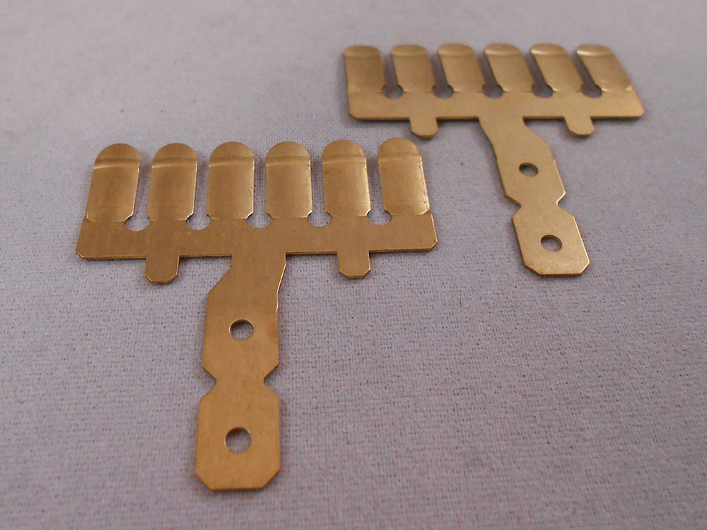 Brass Stamping Injection Molding Insert