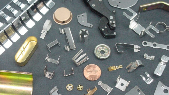 Assortment of Metal Stampings