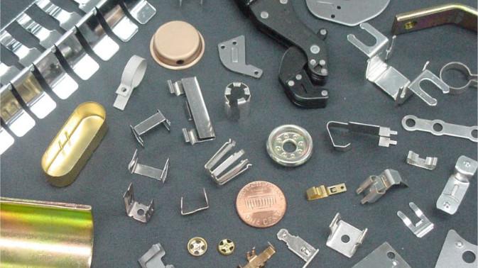 Assortment of Metal Stampings