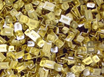 Metal Stamped Brass Brackets
