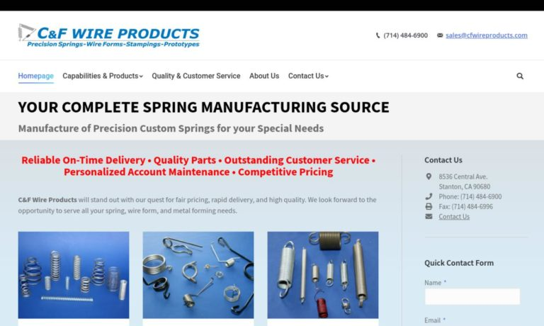 C&F Wire Products