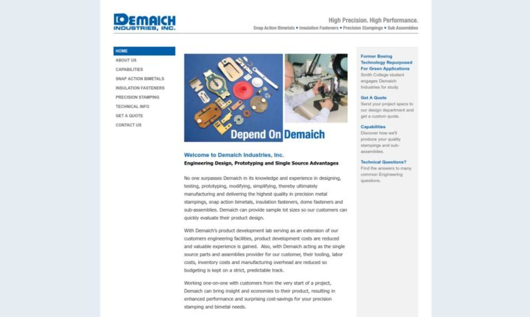 Demaich Industries, Inc.