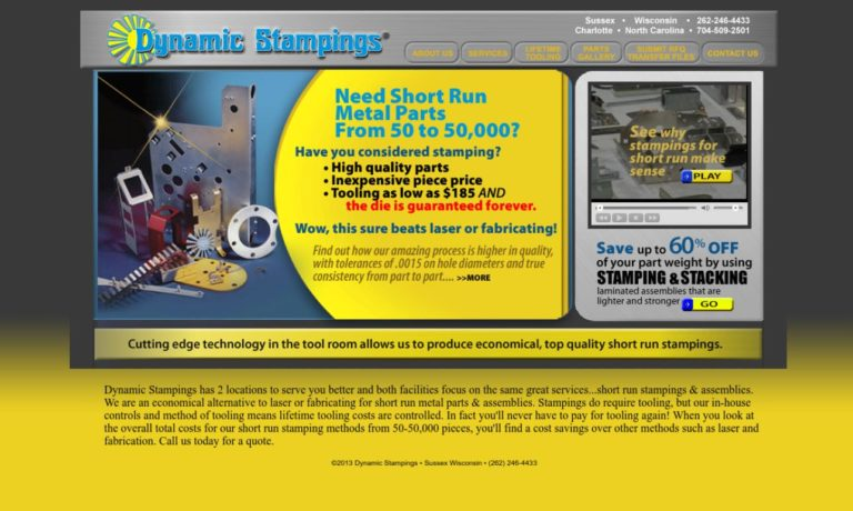 Dynamic Stampings, Inc.®