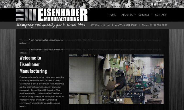 The Eisenhauer Manufacturing Co.