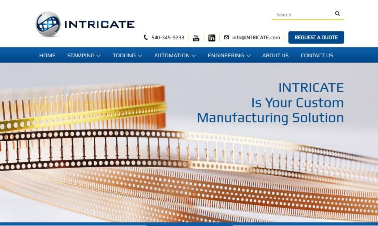 Intricate Metal Forming Company, Inc.