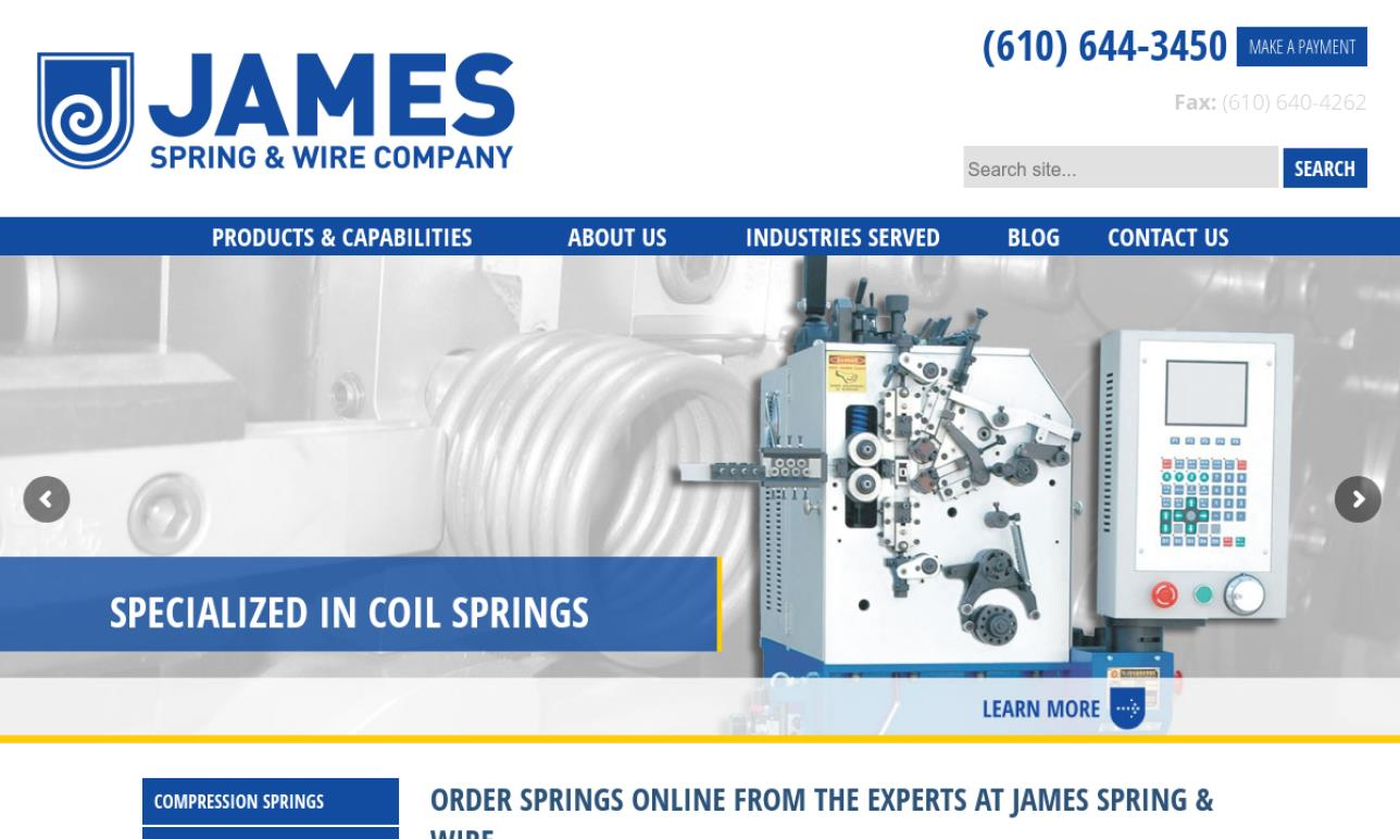 James Spring & Wire Company