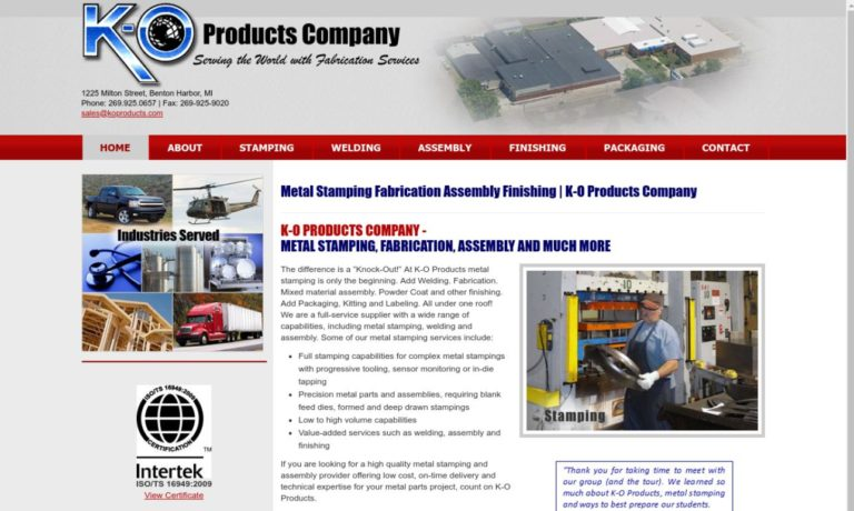 K-O Products Company