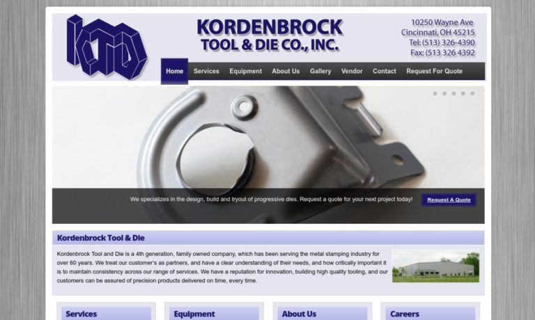 Kordenbrock Tool & Die Co., Inc.