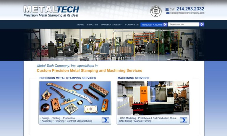 Metal Tech Company, Inc.