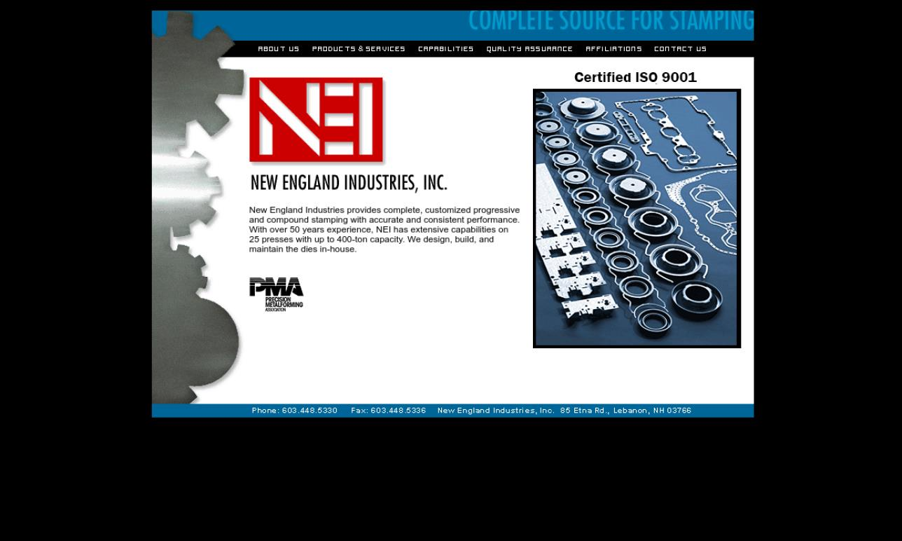 New England Industries, Inc.