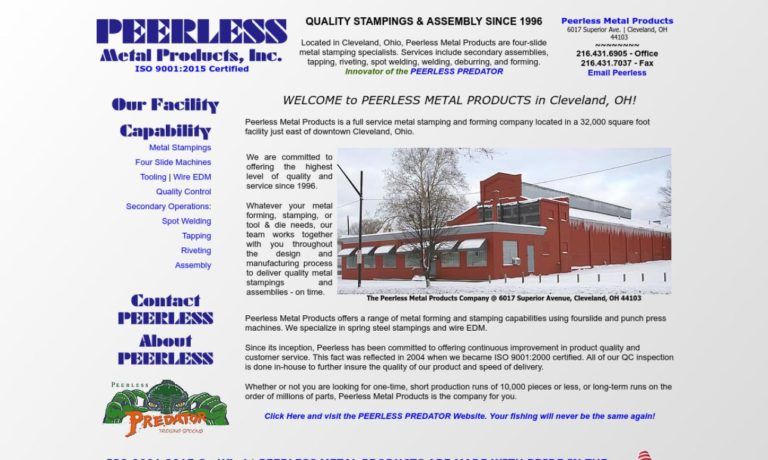 Peerless Metal Products