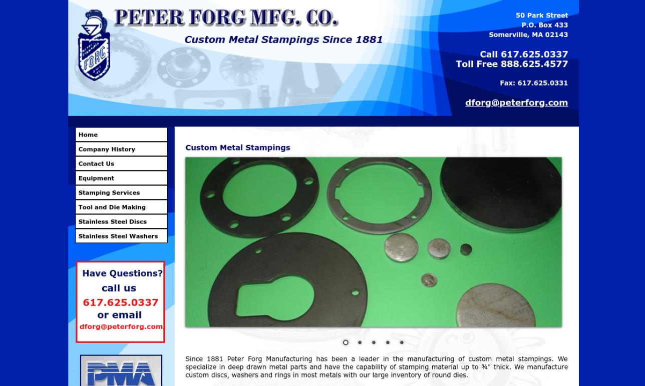 Peter Forg Manufacturing Co.