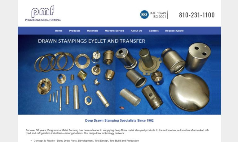 Progressive Metal Forming, Inc.