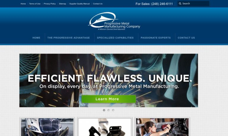 Progressive Metal Manufacturing Co.