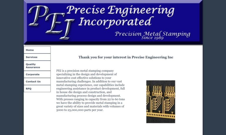 Precise Engineering, Inc.