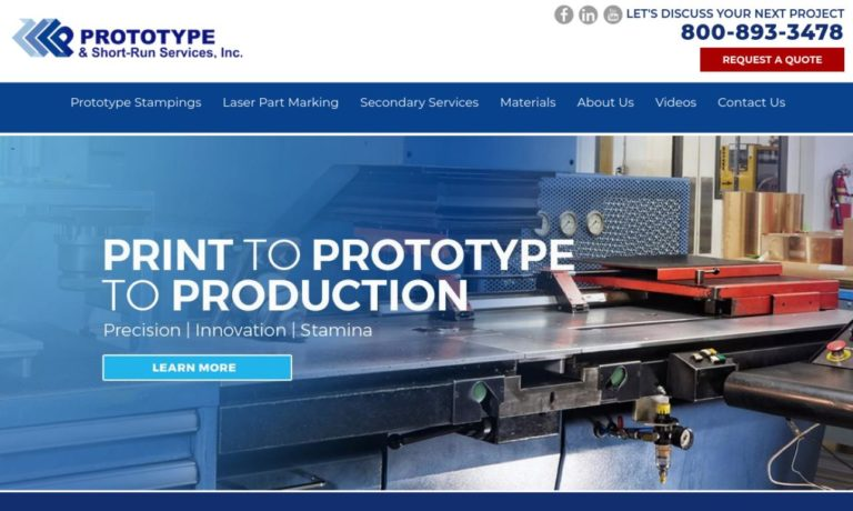 Prototype & Short-Run Services, Inc.
