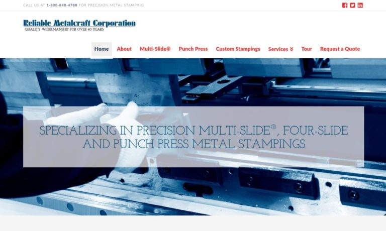 Reliable Metalcraft Corp.