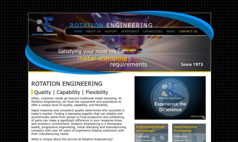 Rotation Engineering and Manufacturing