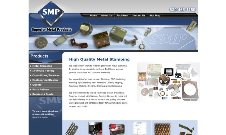 Superior Metal Products, Inc.