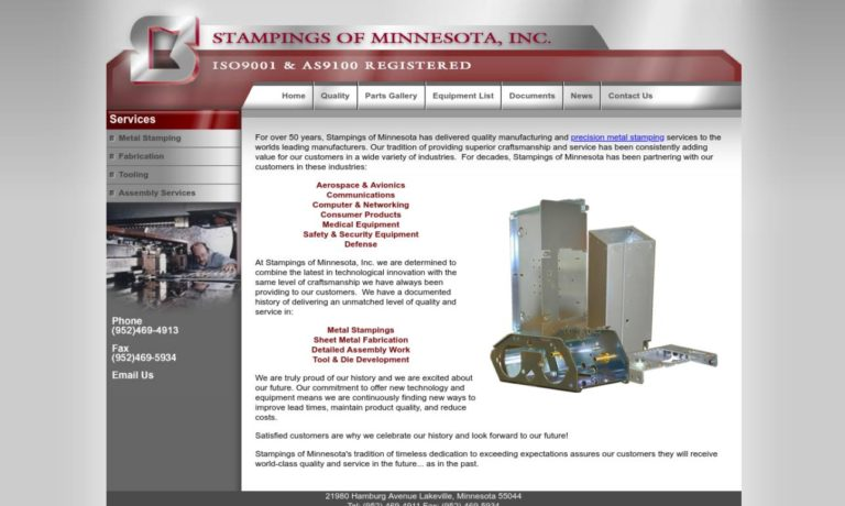 Stampings of Minnesota, Inc.