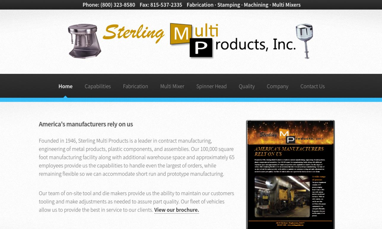 Sterling Multi Products, Inc.