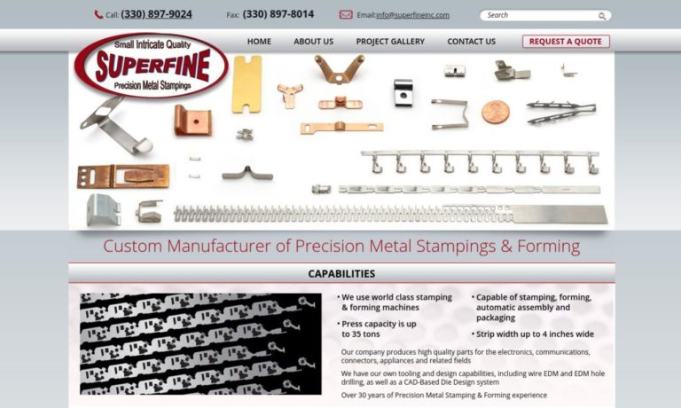 SuperFine Mfg., Inc.