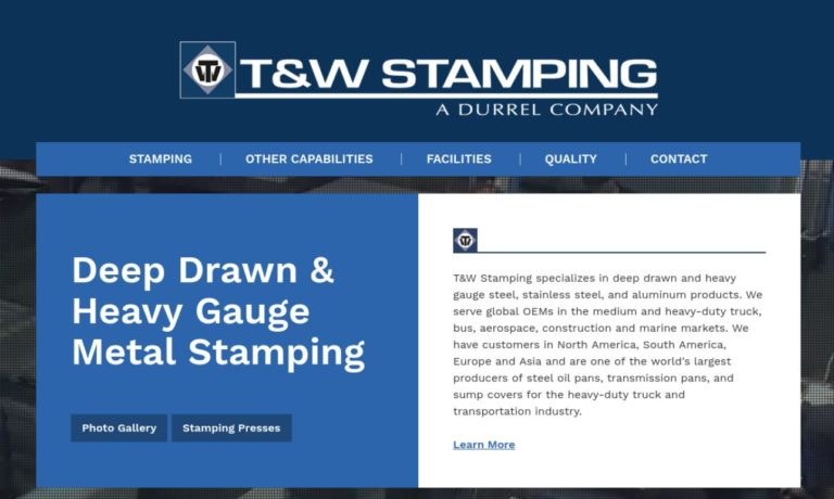 T&W Stamping, Inc.