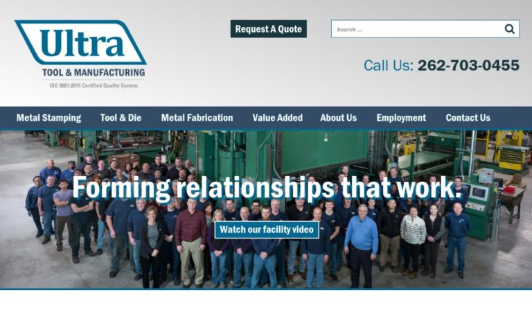 Ultra Tool & Manufacturing, Inc.