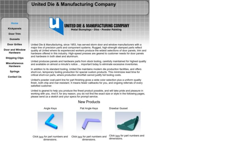 United Die & Manufacturing Co.