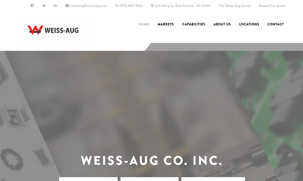 Weiss-Aug Co. Inc