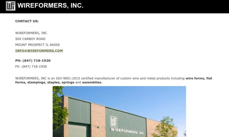 Wireformers, Inc.