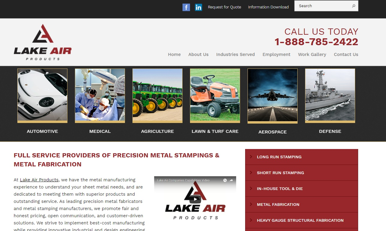 Lake Air Products