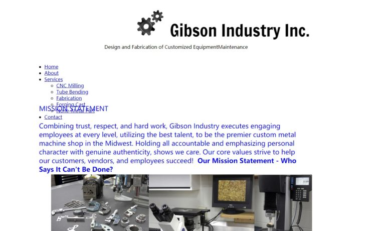 Gibson Industry, Inc.