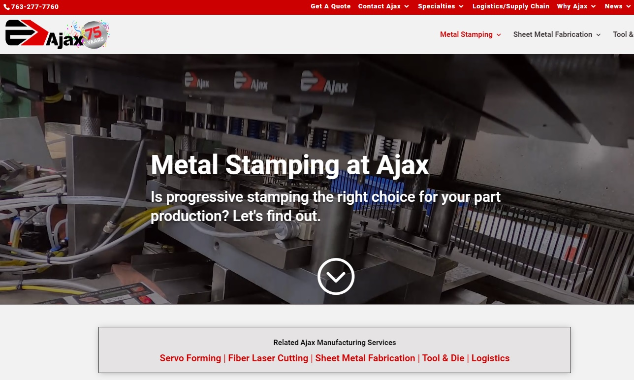 Ajax Metal Forming Solutions