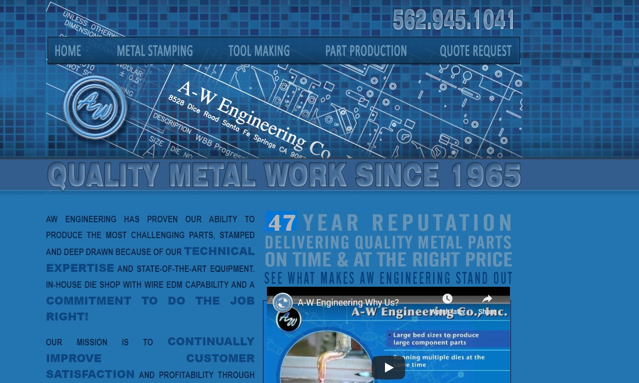 A-W Engineering Co., Inc.